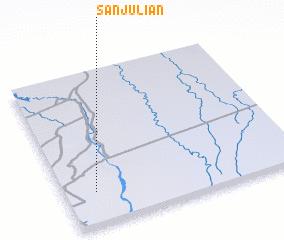 San Julian (Bolivia) map - nona.net