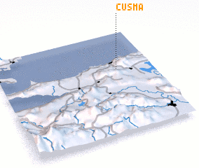 3d view of Cusma