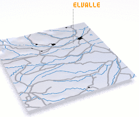 3d view of El Valle