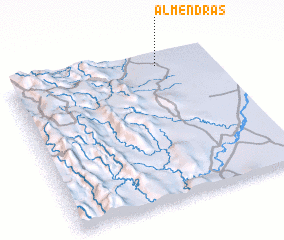 3d view of Almendras