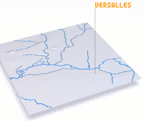 3d view of Versalles