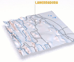 3d view of La Herradura