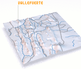 3d view of Vallefuerte