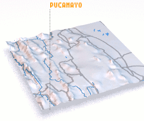 3d view of Pucamayo