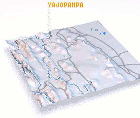 3d view of Yajopampa