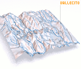 3d view of Vallecito