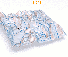 3d view of Vigas