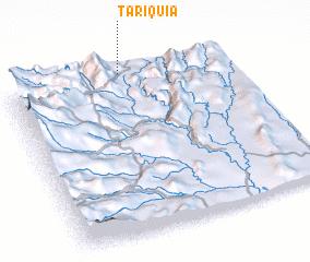 3d view of Tariquía