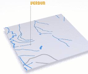 3d view of Verdún
