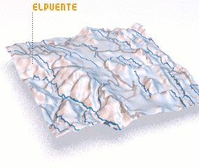 3d view of El Puente