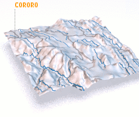 3d view of Cororo