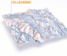 3d view of Collacamaní