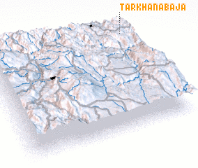3d view of Tarkhaña Baja