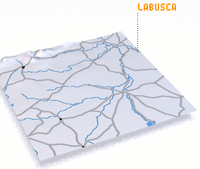 3d view of La Busca
