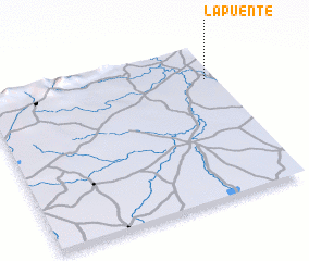 3d view of La Puente