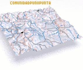 3d view of Comunidad Punu Punta