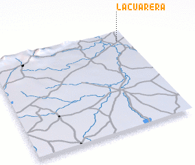 3d view of La Cuarera