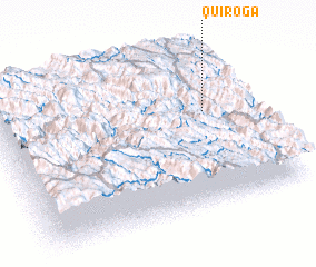 3d view of Quiroga