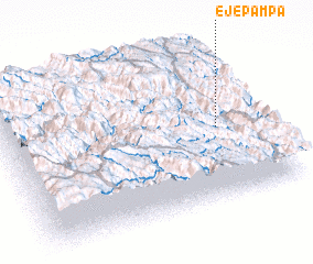 3d view of Eje Pampa