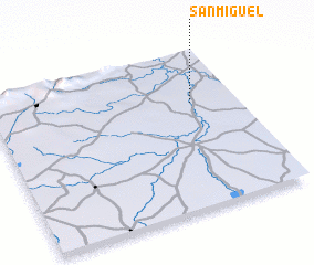 3d view of San Miguel
