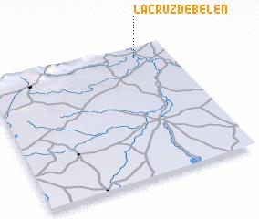 3d view of La Cruz de Belén