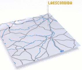3d view of La Escondida