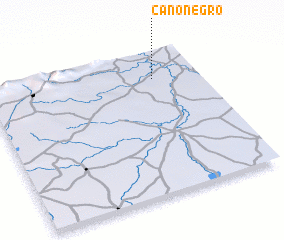 3d view of Caño Negro