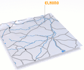3d view of El Mono