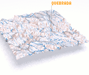 3d view of Quebrada