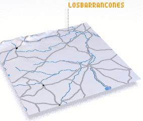 3d view of Los Barrancones