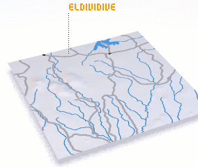 3d view of El Dividive
