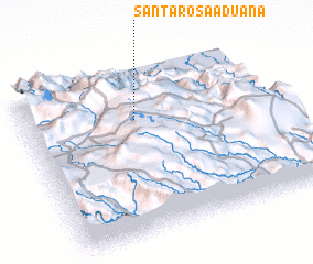 3d view of Santa Rosa Aduana