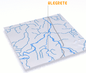 3d view of Alegrete