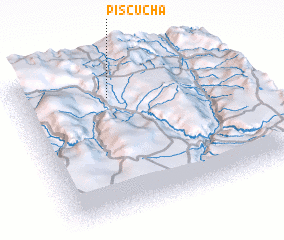 3d view of Piscucha