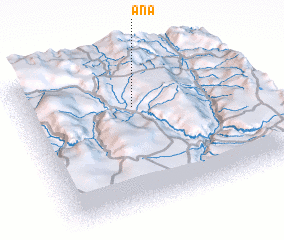 3d view of Aña