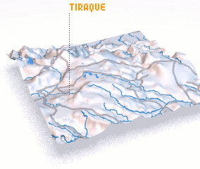 3d view of Tiraque