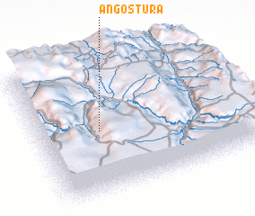 3d view of Angostura