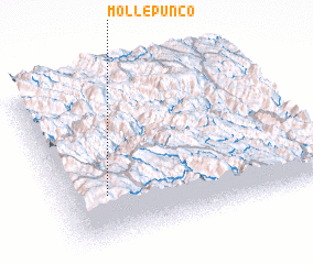 3d view of Mollepunco