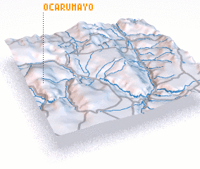 3d view of Ocarumayo