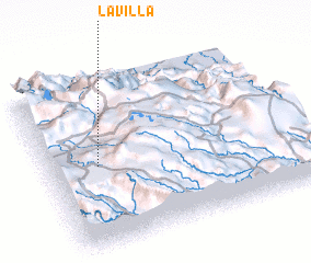 3d view of La Villa