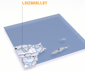 3d view of Loiza Valley