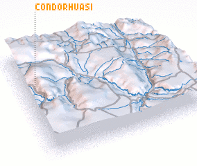 3d view of Condorhuasi