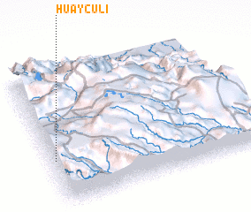 3d view of Huayculi