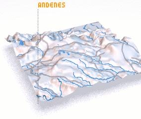 3d view of Andenes