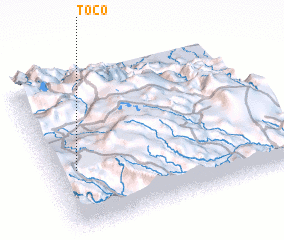 3d view of Toco