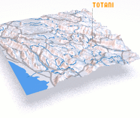 3d view of Totani