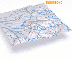 3d view of Barbecho