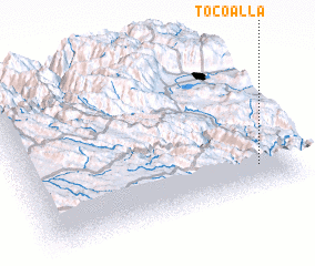 3d view of Tocoalla