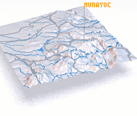 3d view of Muñayoc
