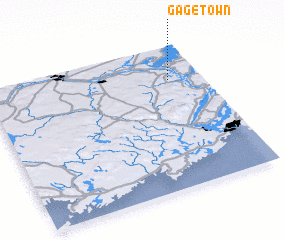 3d view of Gagetown